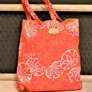 Lilly Pulitzer Canvas Beach Tote for Estee